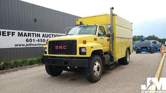1999 GMC C7500 S/A MECHANICS TRUCK VIN: 1GDM7H1C8XJ519284