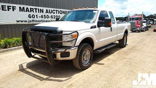 2011 FORD F-250XL SD EXTENDED CAB 4X4 3/4 TON PICKUP VIN: 1FT7X2B66BEC71867