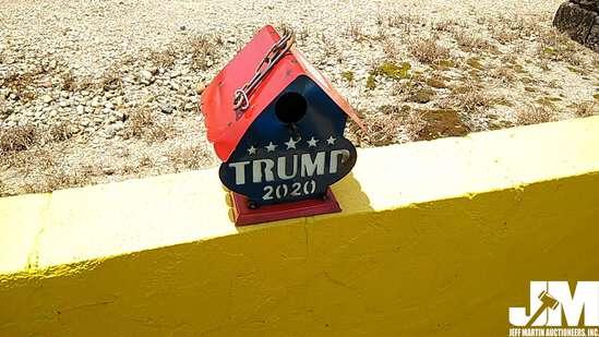 TRUMP BIRD HOUSE