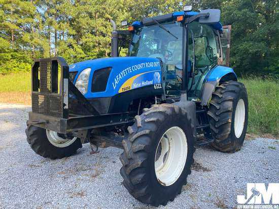 2010 NEW HOLLAND T6050 PLUS 4X4 TRACTOR SN: ZABD08197