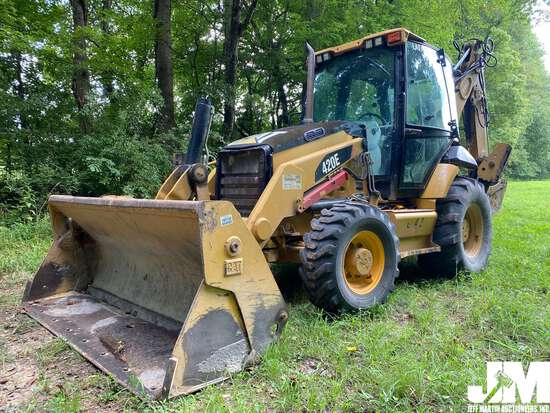 2010 CATERPILLAR 420E 4X4 LOADER BACKHOE SN: DJL00643