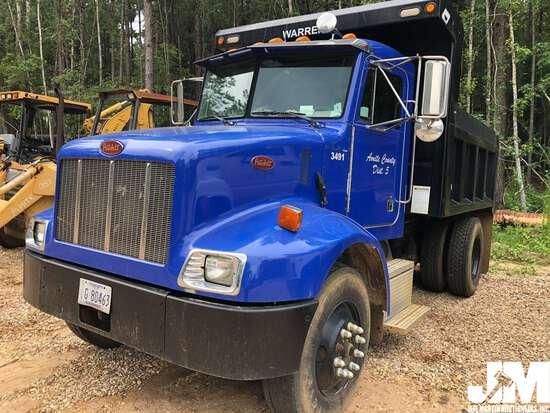 2003 PETERBILT 330 SINGLE AXLE DUMP TRUCK VIN: 2XPNAD6X93M809436