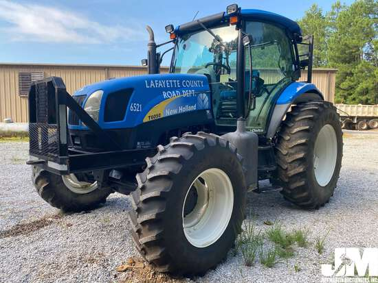 2009 NEW HOLLAND T6050 DELTA 4X4 TRACTOR SN: Z9BD08138