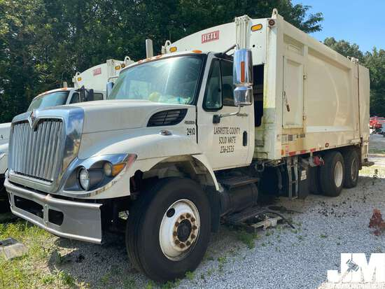 2009 INTERNATIONAL 7400 WORKSTAR VIN: 1HTWGAAR89J188446 T/A GARBAGE TRUCK