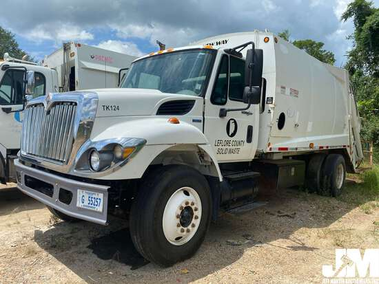 2011 INTERNATIONAL 7400 WORKSTAR VIN: 1HTWCAAN7BJ330753 S/A GARBAGE TRUCK