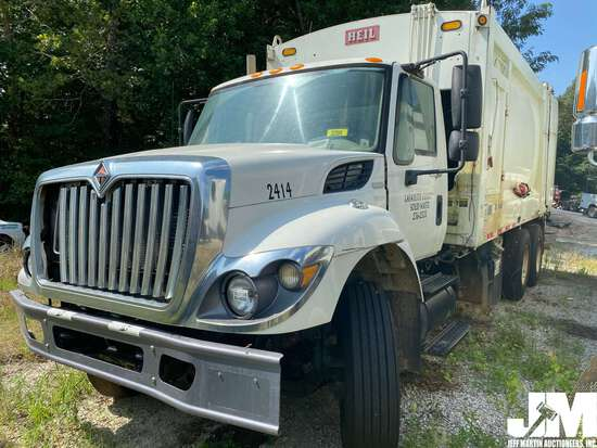 2010 INTERNATIONAL 7400 WORKSTAR VIN: 1HTWGAARXAJ314536 T/A GARBAGE TRUCK