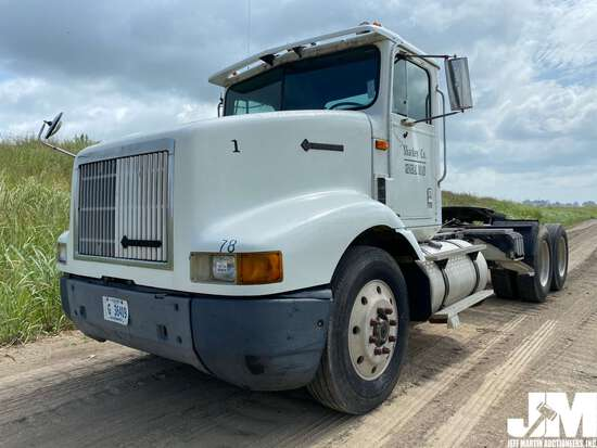 1995 INTERNATIONAL 9200 VIN: 2HSFMAHR4SC017457 TANDEM AXLE DAY CAB TRUCK TRACTOR