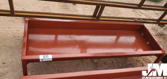 "(UNUSED) 30"" X 90"" CATTLE FEEDER, ***BENT UPON ARRIVAL***"