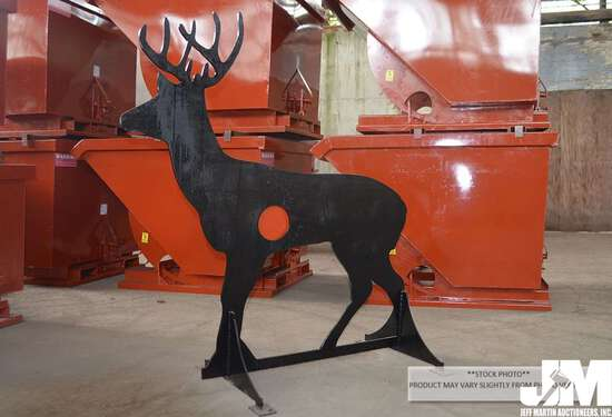 "(UNUSED) AR500 3/8"" STEEL DEER SHOOTING TARGET"