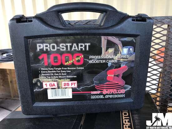 PRO-START 1000 PS1BC001 25' HD JUMPER CABLES
