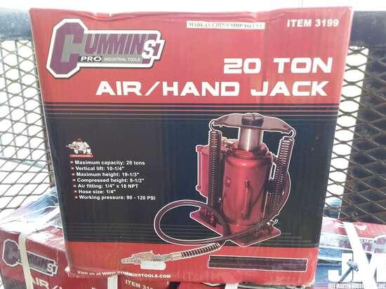 (UNUSED) CUMMINS PRO 20 TON AIR/HAND JACK