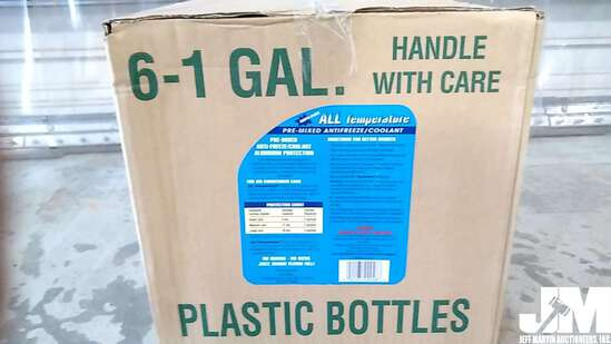 QTY OF (6) 1 GAL ALL TEMPERATURE ANTIFREEZE/COOLANT