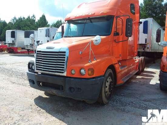 2007 FREIGHTLINER CST120 VIN: 1FUJBBCK97LW34657 TANDEM AXLE TRUCK TRACTOR
