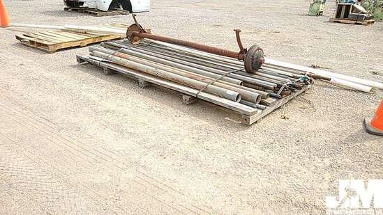 QTY OF VARIOUS SIZES & TYPES OF PIPE/CONDUIT & (1)