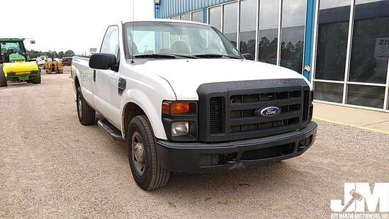 2008 FORD F-250XL SD REGULAR CAB 3/4 TON PICKUP VIN: 1FTNF20528EB43140