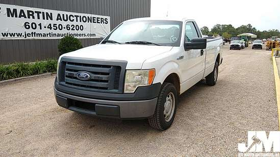 2010 FORD F-150XL REGULAR CAB PICKUP VIN: 1FTNF1CV8AKA73821