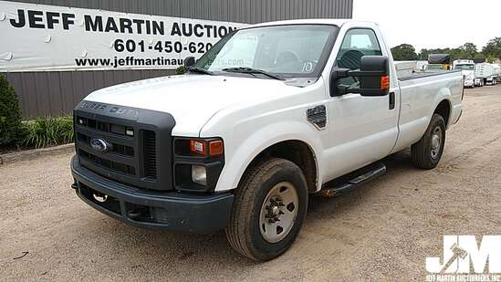 2010 FORD F-250XL SD REGULAR CAB 3/4 TON PICKUP VIN: 1FTNF2A55AEA55087