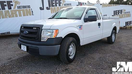 2013 FORD F-150XL REGULAR CAB PICKUP VIN: 1FTNF1CF4DKE35849