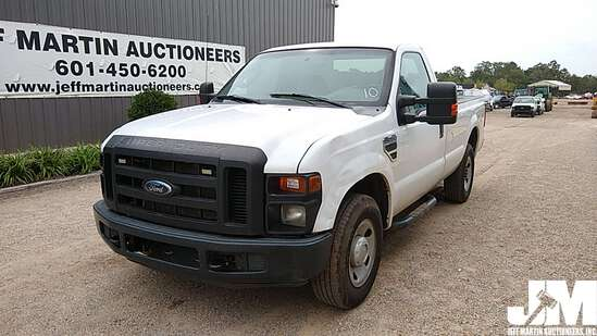 2010 FORD F-250XL SD REGULAR CAB 3/4 TON PICKUP VIN: 1FTNF2A51AEA55085