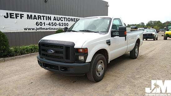 2010 FORD F-250XL SD REGULAR CAB 3/4 TON PICKUP VIN: 1FTNF2A57AEA55088
