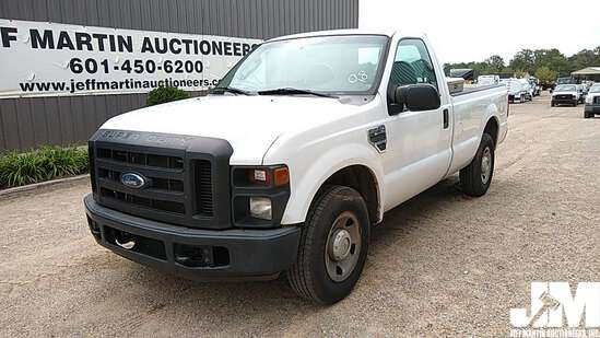 2008 FORD F-250XL SD REGULAR CAB 3/4 TON PICKUP VIN: 1FTNF20548EB43141