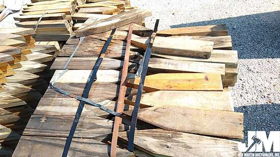 QTY OF WOOD STAKES