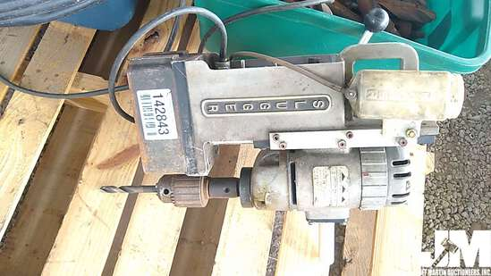 "JANCY SLUGGER 3/4"" PORTABLE MAGNETIC DRILL PRESS"