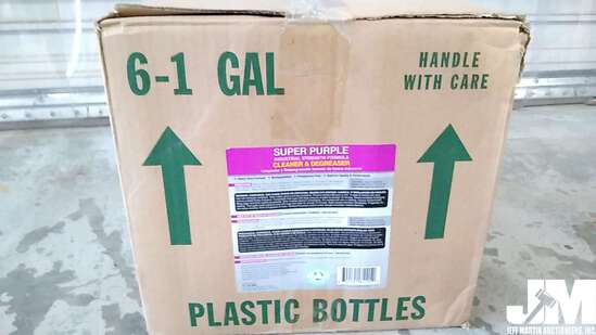 QTY OF (6) 1 GAL SUPER PURPLE INDUSTRIAL STRENGTH CLEANER