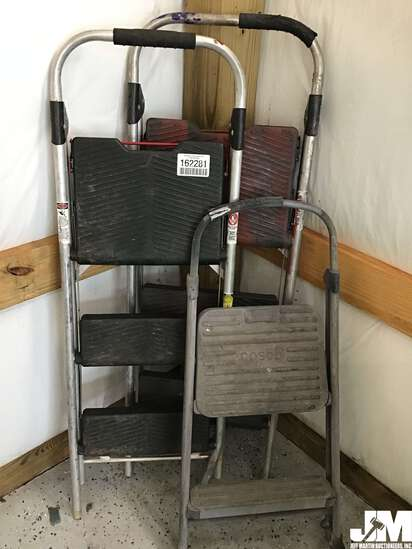 QTY OF (3) MISC STEP LADDERS