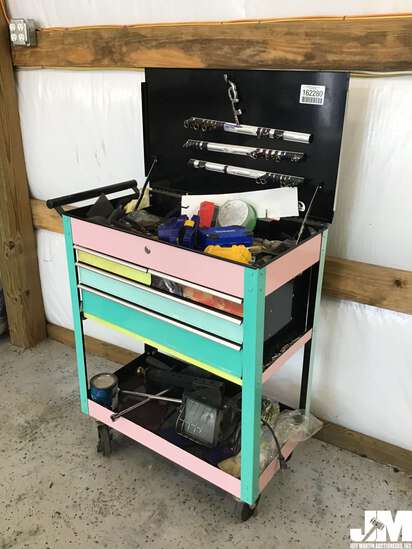 4-DRAWER ROLLING TOOL BOX W/ CONTENTS