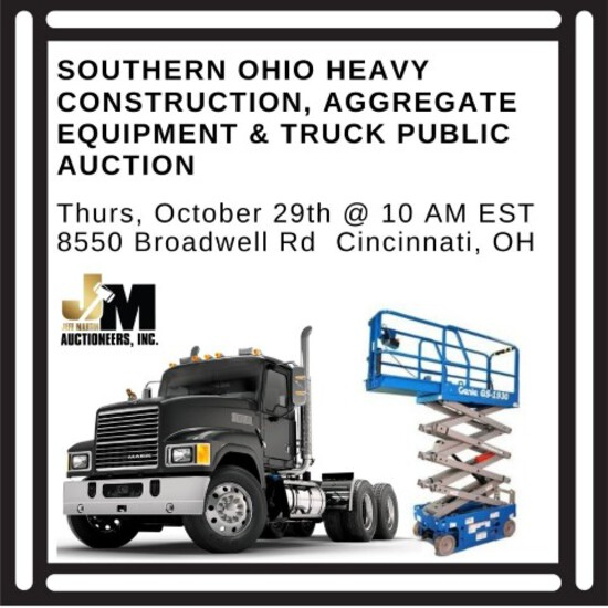 Southern Ohio Heavy Equip & Truck Public Auction