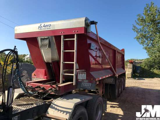 2017 EAST 24' STEEL  DUMP TRAILER VIN: 1E1D3M483HR056993