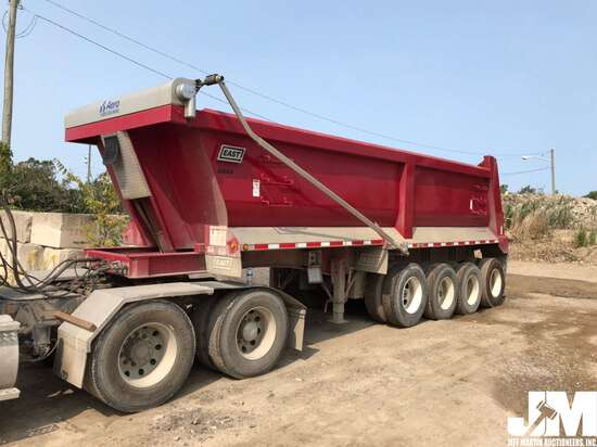 2017 EAST 24' STEEL  DUMP TRAILER VIN: 1E1D3M486HR059645