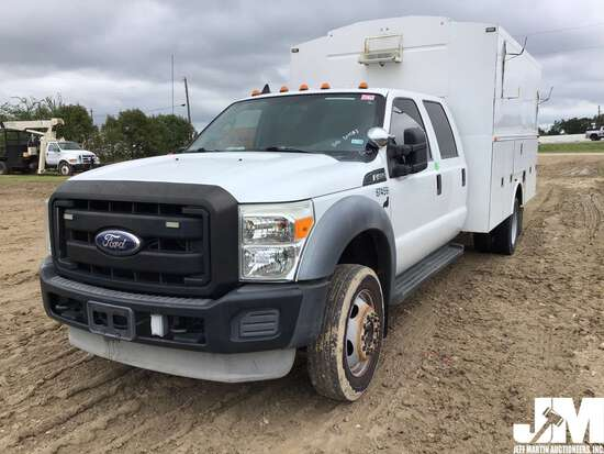 2011 FORD F-450 SD VIN: 1FD0W4GY6BED06820 UTILITY TRUCK
