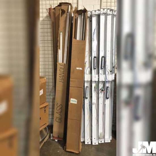 COLLECTION OF FLUORESCENT LIGHT TUBES, VARIOUS SIZES, PHILIPS, SYLVANIA, ALSO