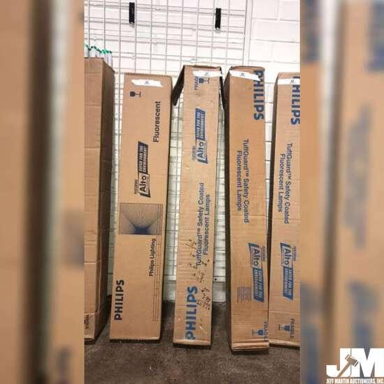 NEW BOX OF PHILIPS ALTO FLUORESCENT LIGHT TUBES, QUANTITY UNKNOWN