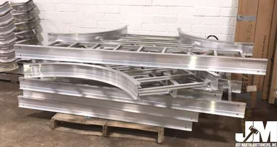 A COLLECTION OF CABLE TRAY PIECES