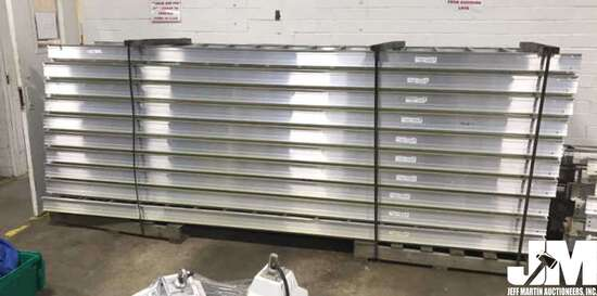 QTY OF (10) TOTAL CABLES TRAYS, EACH TRAY IS 12