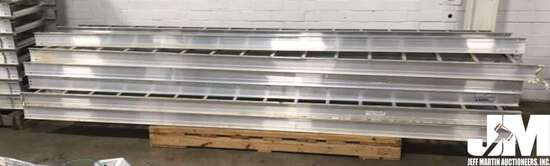 QTY OF (6) TOTAL CABLE TRAYS, EACH ARE 12 FEET
