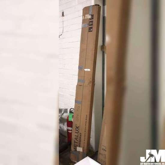 COOPER METALUX FLUORESCENT LIGHTING ENCASEMENT, BOX READS 120V T12, APPEARS