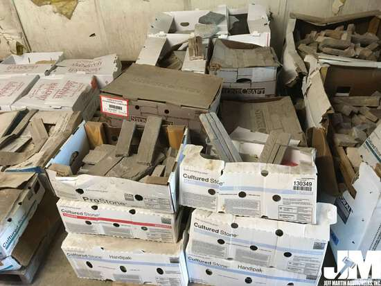 QTY OF (2) PALLETS OF MISC STONE AND BLOCK