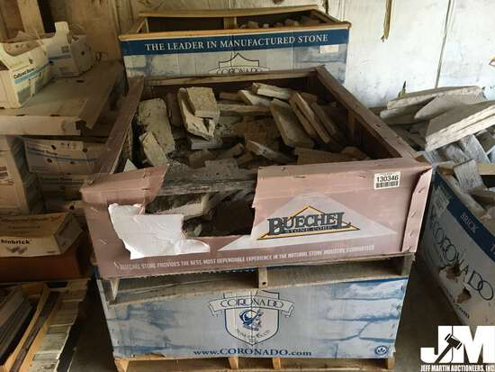 QTY OF (4) PALLETS OF MISC STONE AND BLOCK