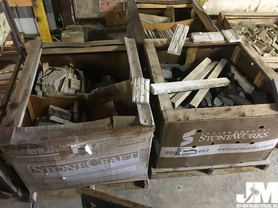 QTY OF (3) PALLETS OF MISC STONE AND BLOCK