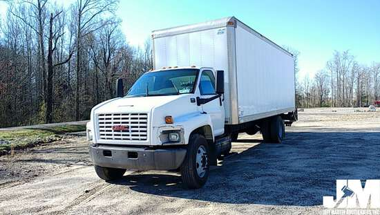 2005 GMC C6500 VAN TRUCK SINGLE AXLE VIN: 1GDJ6C1C95F510862