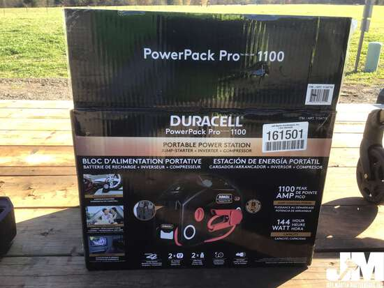 DURACELL PORTABLE POWER STATION/COMPRESSOR