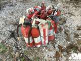 QTY OF (12) DRY CHEMICAL FIRE EXTINGUISHERS