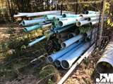 QTY OF MISC INDUSTRIAL PVC PIPES, VARIOUS DIAMETER