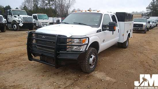 2016 FORD F-350 S/A UTILITY TRUCK VIN: 1FD8W3HT5GED49441