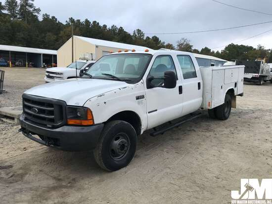 2000 FORD F-350 MECHANICS TRUCK VIN: 1FDWW37FXYED15791