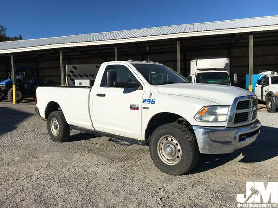 2012 DODGE 2500HD REGULAR CAB 4X4 3/4 TON PICKUP VIN: 3C6LD5AT3CG33313